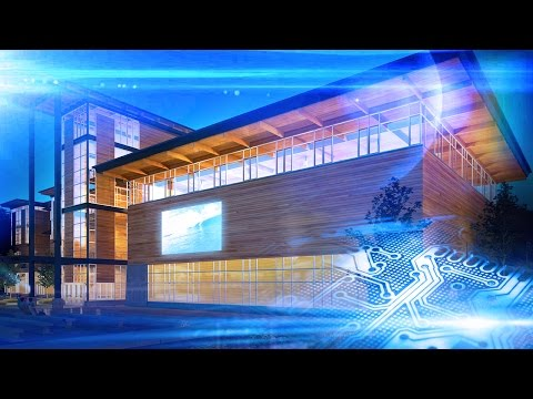 Virtual Tour Architectural Animation - Sterling Middle School