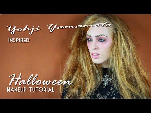 Yohji Yamamoto Halloween Makeup Tutorial