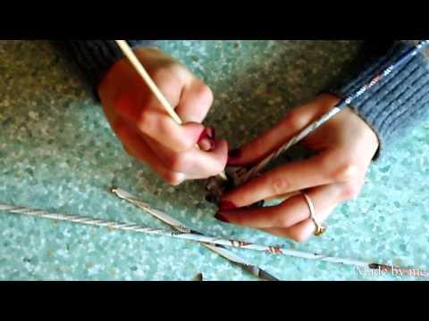 Jak zrobić jajka wielkanocne z papierowej wikliny