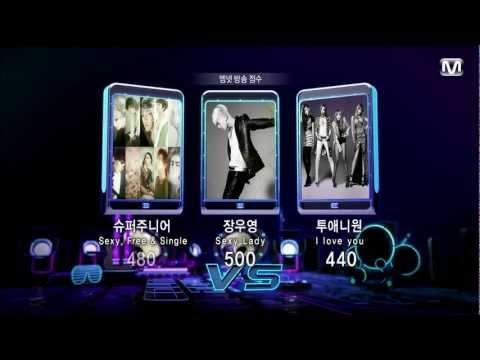 [HD] 120726 Super Junior Win Stage + Encore @ MCountdown