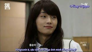 """[Vietsub] Bạn """"gái"""" 3 phút - Yongkuk JBJ @ SNL Korea"""