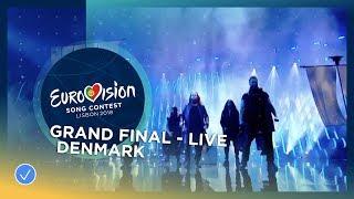 Rasmussen - Higher Ground - Denmark - LIVE - Grand Final - Eurovision 2018