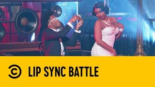 "Jermaine Fowler Performs Kanye West's ""Flashing Lights"" 