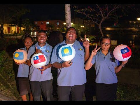20190321 「海洋民主之旅」訪團抵達帛琉