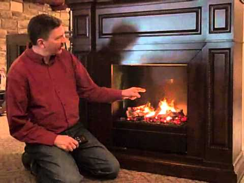 Electric Fireplace With Amazing New Smoke Amp Flame Illusion