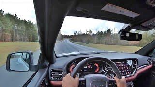2021 Dodge Durango SRT Hellcat POV Track Drive (3D Audio)(ASMR)