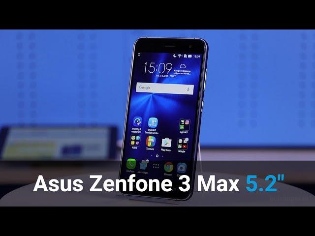 Belsimpel-productvideo voor de Asus Zenfone 3 Max (5.2) Gold
