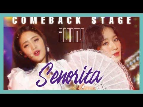 [ComeBack Stage] (G)I-DLE  -  Senorita ,(여자)아이들 - Senorita Show Music core 20190302