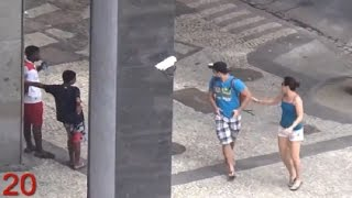 Criminals Target Olympic Site in Brazil