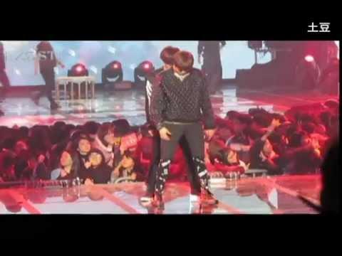 [FANCAM] 121229 가요대전- EXO KAI LAY