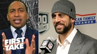 Aaron Rodgers has been unfairly victimized by former Packers teammates - Stephen A.   First Take