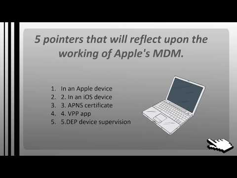 How MDM Works on An Apple Device?