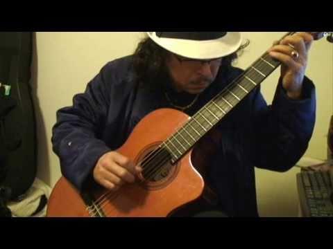 La Cumbia chinandegana (classic guitar)Do Mayor.wmv