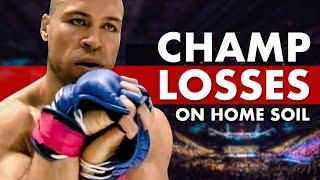 10 Championship Losses on Home Soil