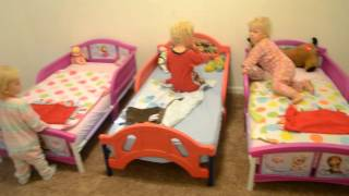 First Night in Big Kid Beds!
