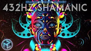 432 HZ SHAMANIC »GO INTO A DEEP TRANCE |4 HZ THETA Meditation »10k+12k Hz |432 Hz BRAINWAVE JOURNEY