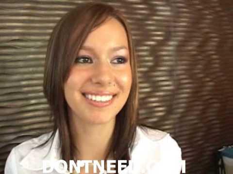 Teen Brunette Hostess In 29