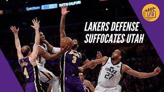 Lakers Defense Suffocates Utah