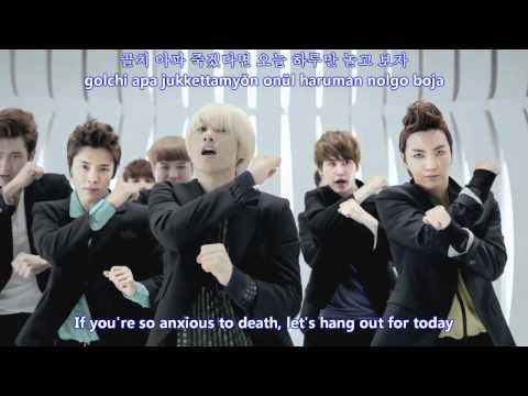 Super Junior - Mr Simple MV [english subs + romanization + hangul]