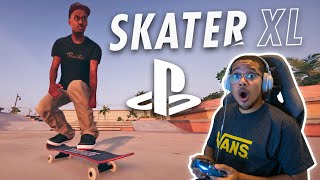 First Time Playing Skater XL! | Better Than EA Skate?