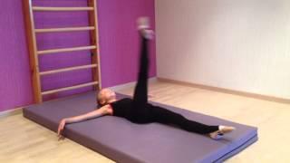 Художественная гимнастика. Разминка 1-я часть.