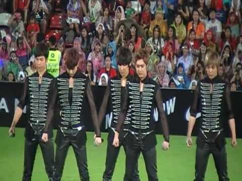 MBLAQ @ Asian Dream Cup 2012 Thailand (It's War & Oh Yeah)