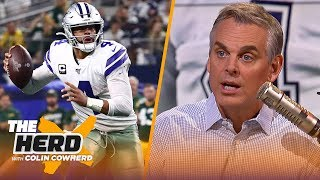 Browns are actually lucky this year, Colin questions how much leverage Dak has | NFL | THE HERD