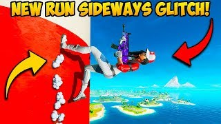 *INSANE* RUN SIDEWAYS GLITCH!! - Fortnite Funny Fails and WTF Moments! #763