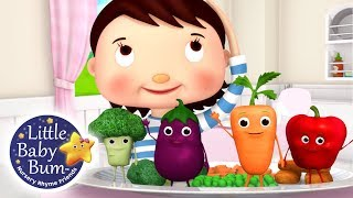 Learn How To Eat Your Vegetables!   32 Mins   Fun #Learning with #LittleBabyBum   #NurseryRhymes