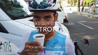 We take our Colombian- STRONG