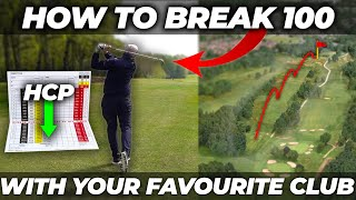 HOW TO BREAK 100 WITH YOUR FAVOURITE GOLF CLUB WITH EASE