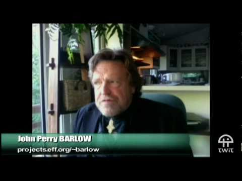 John Perry Barlow at TWiT TV