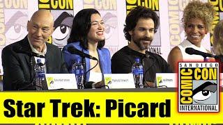 STAR TREK: PICARD | Comic Con 2019 Full Panel (Patrick Stewart, Brent Spiner, Jeri Ryan)