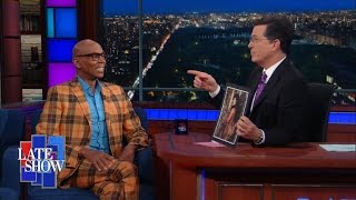 Stephen Tells RuPaul About His Drag Persona