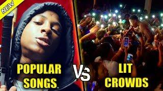 POPULAR SONGS VS LIT CROWDS PART 5