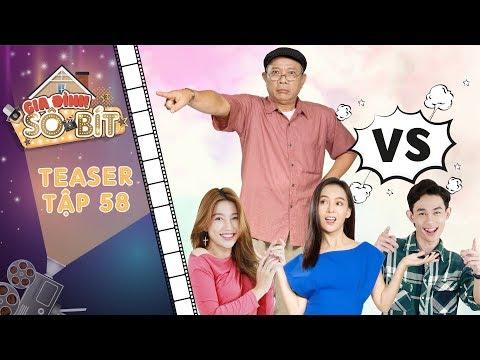 Gia đình sô - bít|Teaser tập 58: Thiên Thư, Thiên Thanh, Gia Bảo ăn chay vì muốn lấy lòng ông nội?