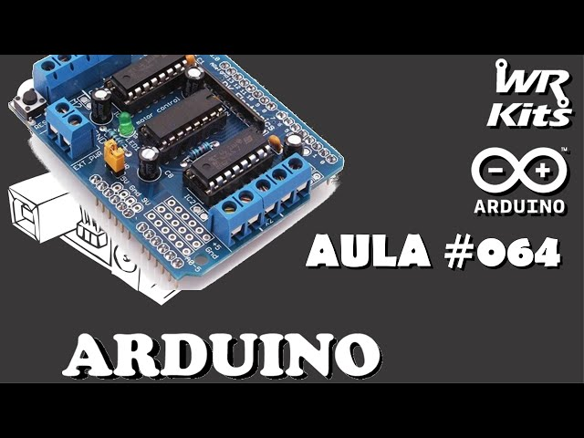 HARDWARE DO MOTOR SHIELD L293D | Curso de Arduino #064