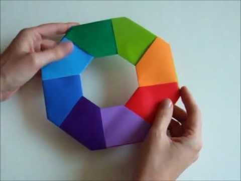 Comment faire une étoile magique en papier ?
