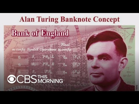 Alan Turing to be honored on British currency