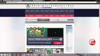 شرح التسجيل فى فانتازى الدورى الانجليزى - fantasy premier league     -