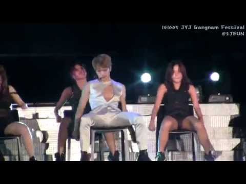 141005 JYJ 강남한류 콘서트 - BACK SEAT 재중(Jaejoong)