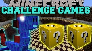 Minecraft: WATER DRAGON CHALLENGE GAMES - Lucky Block Mod - Modded Mini-Game