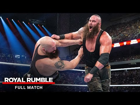WWE Royal Rumble match 2017