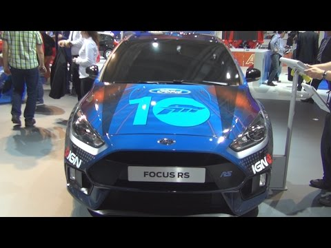 Ford Focus RS Forza 2.3 EcoBoost (2016) Exterior in 3D