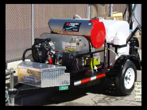 Start A Pressure Washing Business W Single Axle Trailer