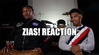 ZIAS! Reaction on Cardi B Altercation, Cardi Breaking & Jumping On Zias' Phone (Part 3)