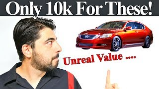 Top 5 Luxury Cars under $10,000 - Unbelievable Value for 10K MUST WATCH