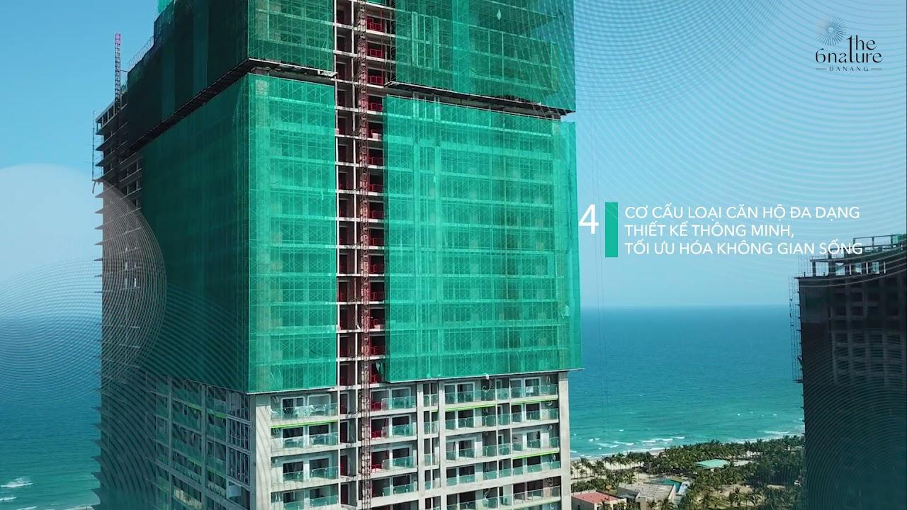 Căn hộ 3PN giá tốt chỉ 6,1 tỷ - View đẹp nhất biển Mỹ Khê & cung đường tỷ đô - ảnh view thực tế video