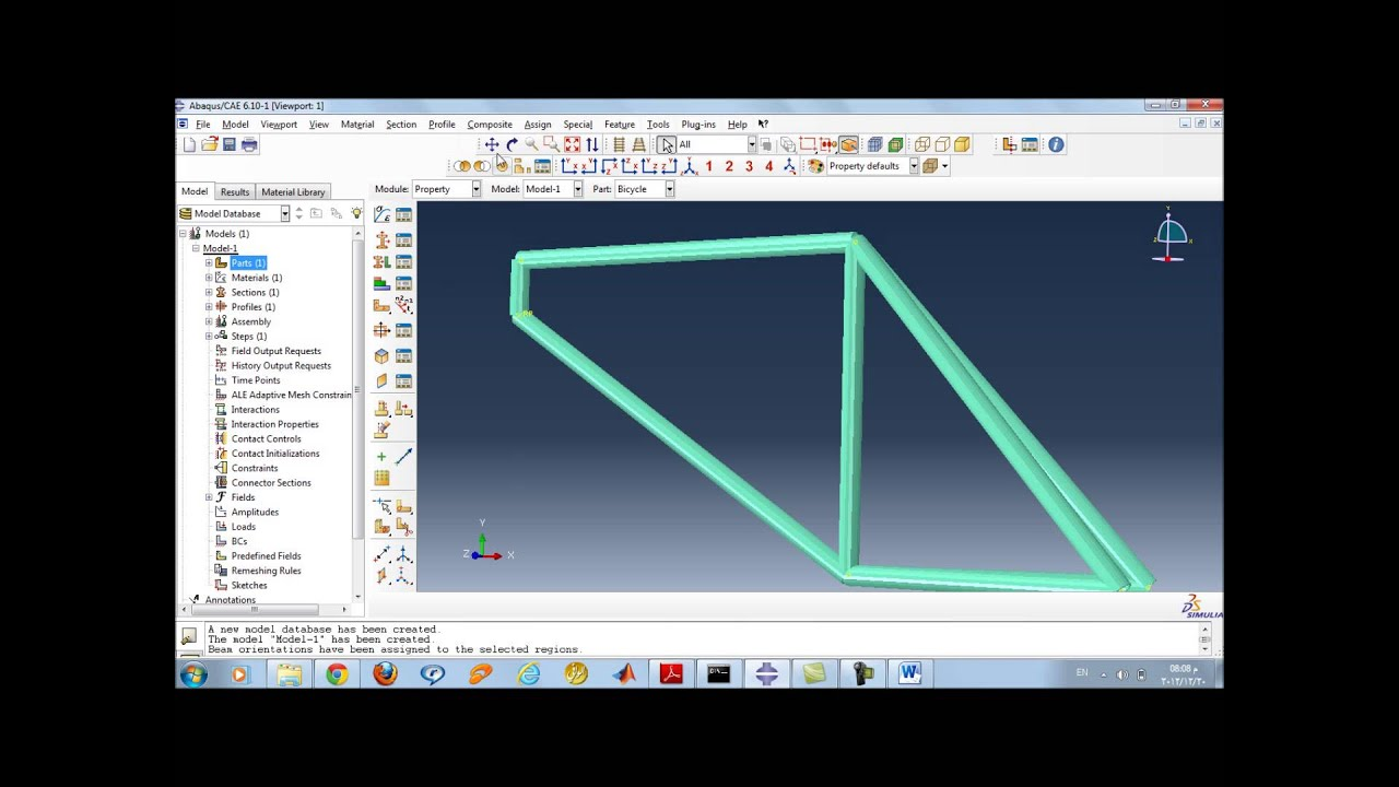 Displaying Bending Moment Diagram For 2d Rigid Frame