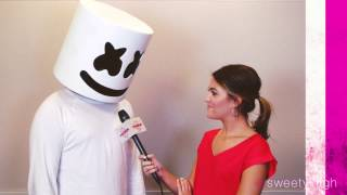 "Marshmello Chats With Sweety High About Single ""Alone"""